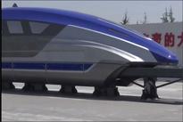 فیلم|  قطار سریعالسیر عجیب و جدید چین