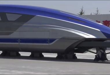 فیلم   قطار سریعالسیر عجیب و جدید چین
