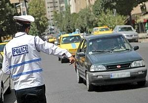 اجرای محدودیت ترافیکی در همدان