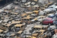 ۶۰۰ خودرو در کره جنوبی در آتش سوخت