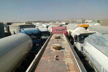 عکس  وضعیت پارکینگ دوغارون پس از آتشسوزی در پارکینگ اسلامقلعه