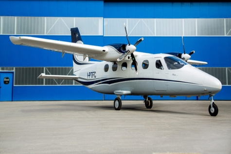 Tecnam Selects TKS Ice Protection System for P2012 Traveller