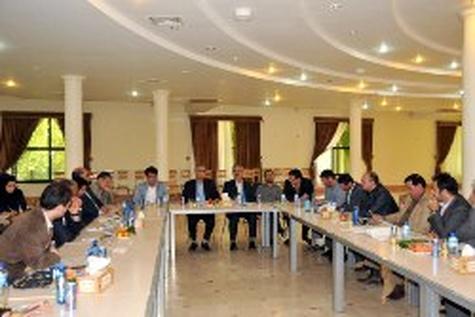 جلسه شورای سازمان قطار شهری کرج تشکیل شد