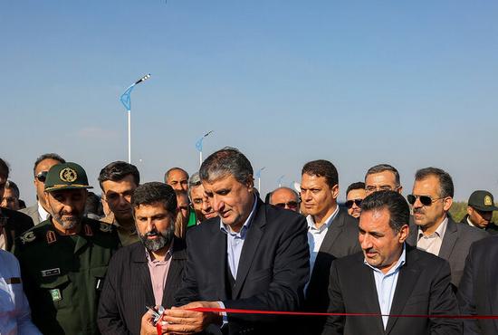 تصاویر| سفر وزیر راه و شهرسازی به خوزستان