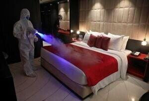 قرنطینه مسافران در هتل فرودگاهی و آمادگی برای نقاهتگاه کرونا
