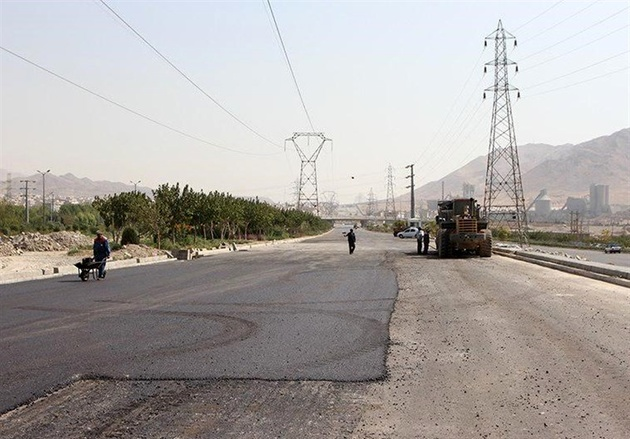 طرح بهسازی معابر شهر تهران به نیمه راه رسید