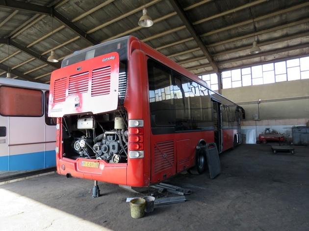 ۳ اتوبوس از هر ۵ اتوبوس تهران فرسوده است