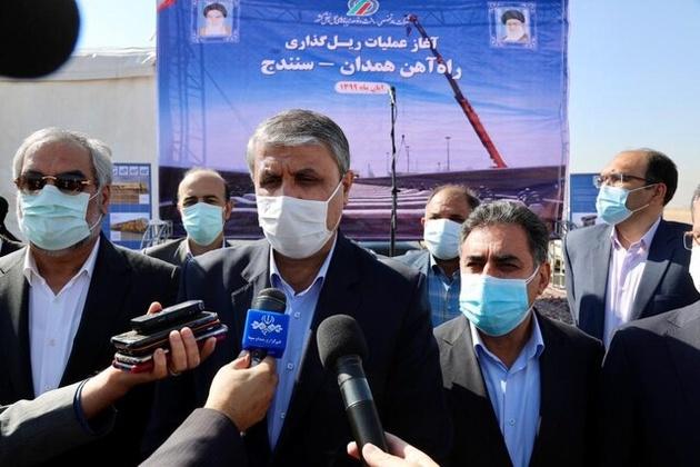 افتتاح خط ریلی ایران- افغانستان تا پایان آبان