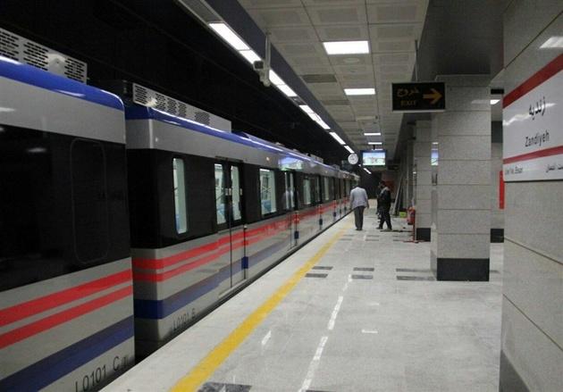 ریلگذاری ایستگاه زیرزمینی بازار وکیل متروی شیراز تکمیل شد