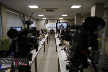 نشست خبری مسعود پلمه