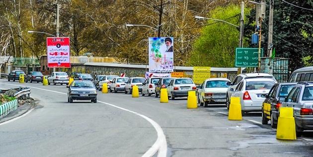 اعمال محدودیت ترافیکی نوروزی در هراز و کندوان از ۲۸ اسفند
