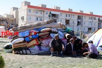 گزارش تصویری/ وضعیت زلزلهزدگان مسکن مهر کرمانشاه دو روز پس از حادثه