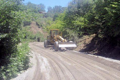 ۹ پروژه راهسازی در شهرستان علیآباد کتول در حال اجرا است