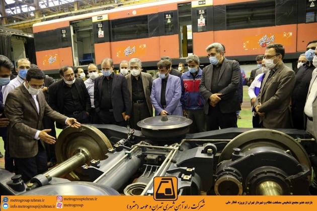 ابراز امیدواری نسبت به تامین منابع مالی تولید یک هزار دستگاه قطار ملی مترو