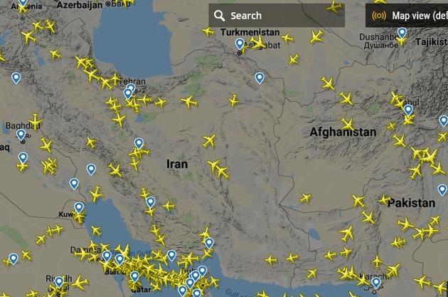 تهدید آمریکا درآمد پروازهای عبوری ایران را کاهش خواهد داد؟