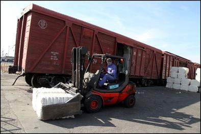رشد ۱۹ درصدی بارگیری در راه آهن اراک