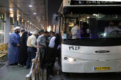 رایگان شدن اتوبوس در ایام نوروز در برخی خطوط مشهد
