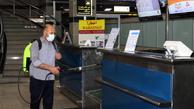 جابجایی مسافر در فرودگاه مهرآباد به یک سوم کاهش یافت