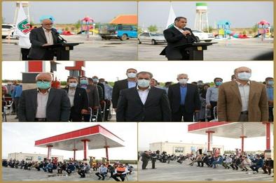 افتتاح مجتمع خدمات رفاهی سه راه رحیم آباد در قزوین