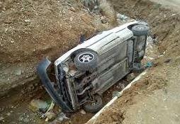 واژگونی پراید درقزوین یک کشته و 2 مصدوم برجای گذاشت