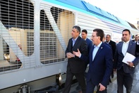 Railway fleet receives 243 new domestically-made wagons, locomotives
