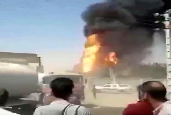 فیلم| آتشسوزی در گذرگاه مرزی دوغارون صحت دارد؟