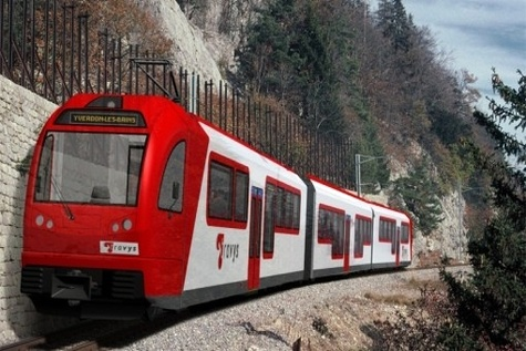 Rhätische Bahn takes first delivery of Albula line trainset