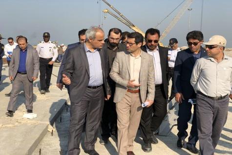 بازید مدیرعامل سازمان بنادر و دریانوردی از بندر بوشهر