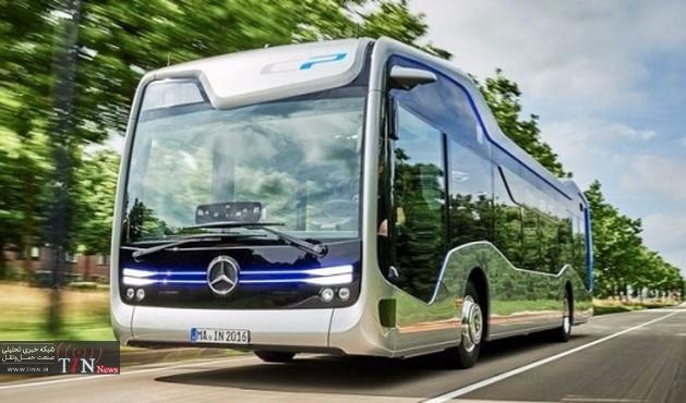 مرسدس اتوبوس خودران ساخت