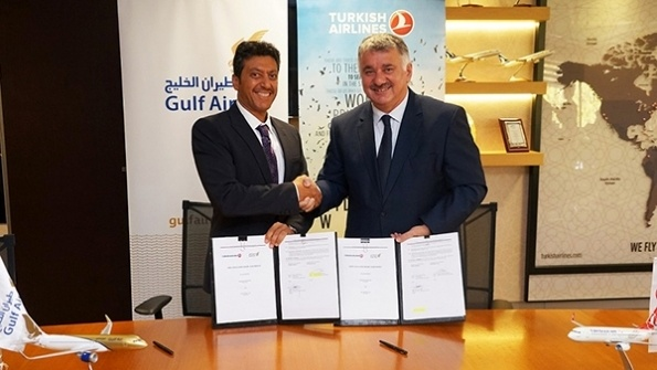 Gulf Air, Turkish Airlines ink codeshare deal