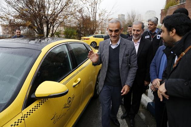 500 دستگاه تاکسی نو، با سرمایه بخش خصوصی، وارد ناوگان شهری شد
