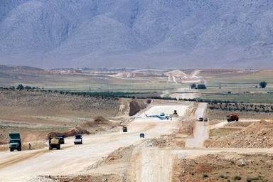پیشرفت 70درصدی پروژه ساخت آزادراه اصفهان-شیراز