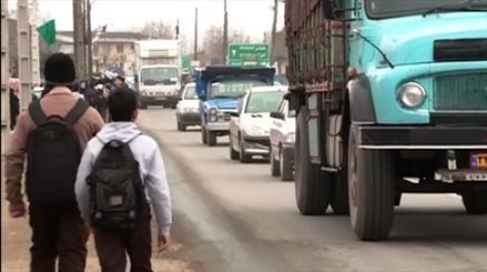 جانمایی نامناسب مدارس در حاشیه جاده