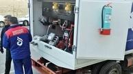 عکس| پمپ بنزین سیار