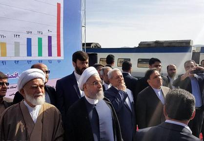 افتتاح خط آهن تهران – همدان