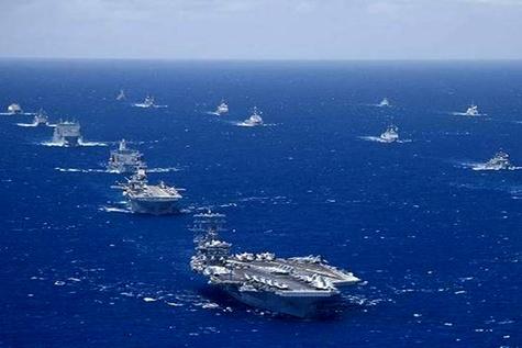 چین به رزمایش دریایی آمریکا می پیوندد