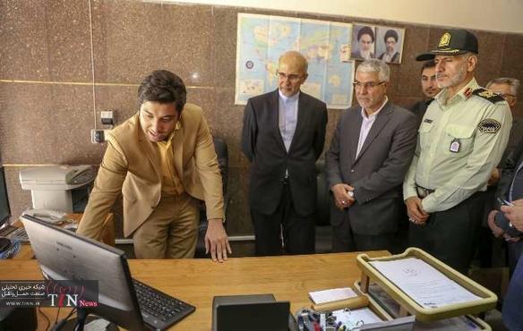افتتاح مرکز صدور روادید الکترونیکی فرودگاه شیراز