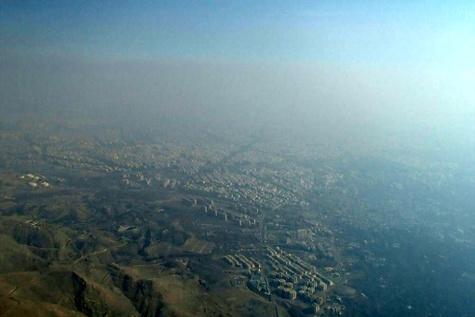 گزارش تصویری / آلودگی هوای تهران