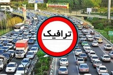 ترافیک نیمه سنگین در محور زنجان – قزوین
