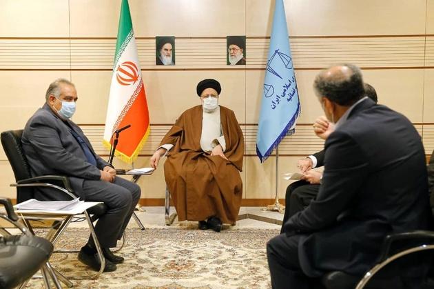 دیدار رئیس قوه قضائیه با دبیر اجرایی خانه صنعت و معدن استان کرمانشاه