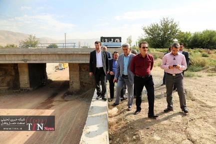 بازدید مدیرعامل راه آهن از زیرگذرهای محور ریلی شهر قدس