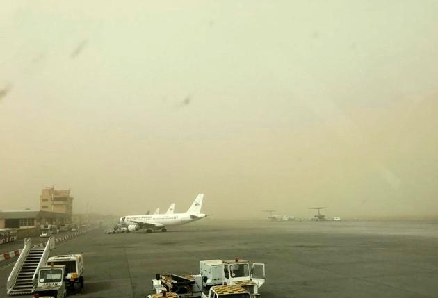 گردوخاک دید افقی فرودگاه زابل را کاهش داد