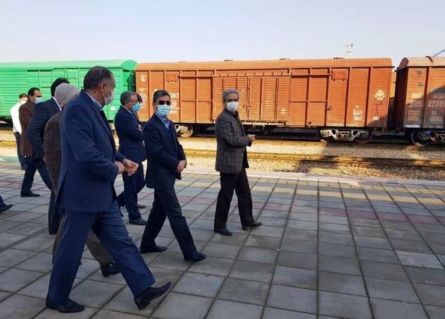 راه آهن خواف - هرات در روزهای آتی به بهرهبرداری میرسد