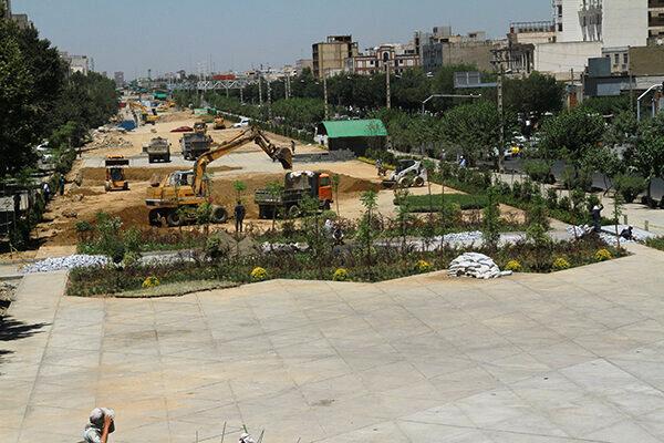 بهره برداری از بخشی از باغ راه حضرت زهرا(س) به زودی