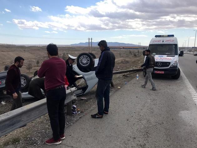 سانحه رانندگی در اردکان ۲ کشته برجا گذاشت