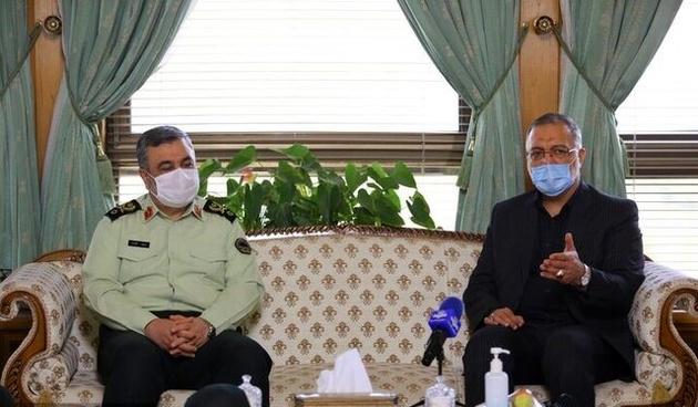 اعلام آمادگی ناجا برای همکاری با شهرداری تهران