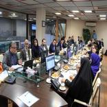 بازدید اعضای شورای اسلامی شهر تهران از مرکز کنترل ترافیک تهران
