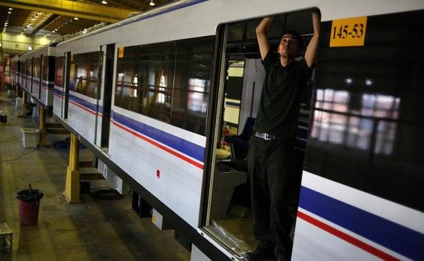 امضای توافقنامه سه جانبه برای ساخت واگن مترو