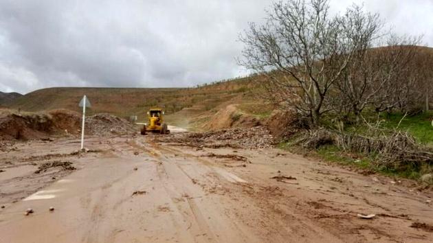 سیل به راههای روستاهای خراسان شمالی خسارت زد