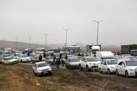 تعداد خودروهای درگیر در تصادف محور اهواز - رامشیر مشخص نیست